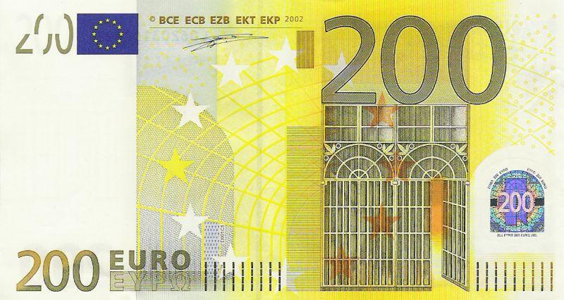 200€ Seteli